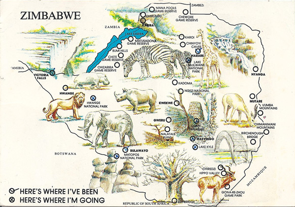 Around Zimbabwe