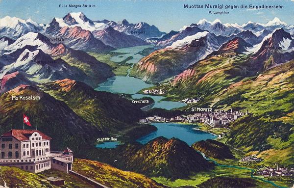 Hotel Muottas Muraigl 2520 M. über Meer