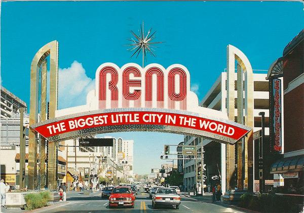 Reno, Nevada - Famous Reno Arch