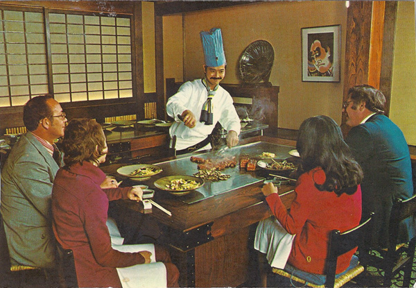 Benihana of Tokyo 740 Taylor Street San Fransisco - Home of the original teppanyaki style of dining