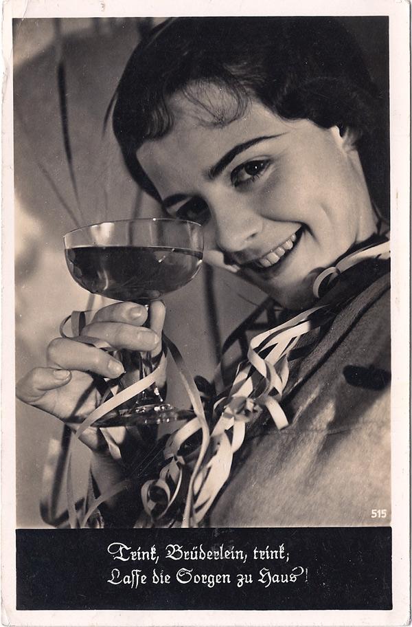 Trink, Brüderlein, trink; Lasse die Sorgen zu Haus!