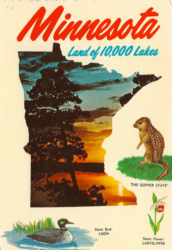 Minnesota - Land of 10.000 Lakes
