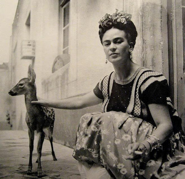 kahlo_pet_deer