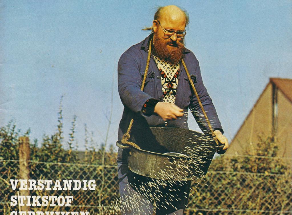 """Tijdschrift voor de amateurtuinder """"Moestuin"""" Nr. 2, 1982, detail cover"""