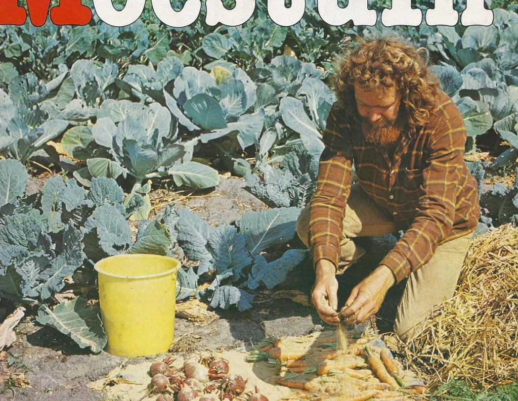 """Tijdschrift voor de amateurtuinder """"Moestuin"""" Nr. 6, 1982, detail cover"""